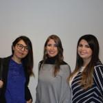 Karina Alvares, Pricilla Souza e Daniela Lima, da Azul