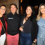 Kate Schell, da Latam Travel Santana, Ricardo Amaral, da R11, Paula Lima, da Latam Travel Santana, e Edilaine Oliveira, da Latam Travel