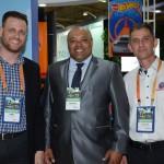 Leonardo, do Hotel Estação, Vilson dos Santos, Rafain Churrascaria Show, e Hernando de Faria, do Beto Carrero World