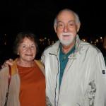 Leonel Rossi, da Abav, com sua esposa Lena Silva
