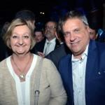 Liliam Kechichian, ministra do turismo do Uruguai, e Alejandro Malo