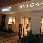 Lojas como Cartier, Hublot e Bvgalri estão presentes no Symphony