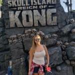 Luana, da Latam Travel, se aventurou pelas terras do King Kong
