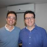 Lucas Paci, da Tyller, e Paulo Barbosa da Ancoradouro