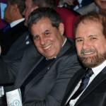 Luiz Falco, presidente da CVC Corp, e Guilherme Paulus, da GJP