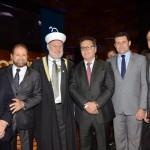 Manoel Linhares, da ABIH, Guilherme Paulus, da GJP, Oussama W. El, Vinicius Lummertz, do MTur, Tufi Michreff Neto, secretário de Turismo de SC,e Faisal M Ismail