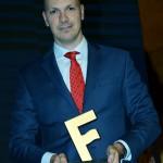Marcelo Kaiser, da Aviareps, recebeu o troféu Amigos do Festival