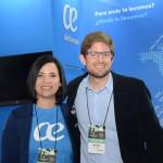 Marcia Silva e Gonzalo Romero, da Air Europa
