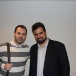 Marco Fabrizio e Vitor Megale, do Decolar.com