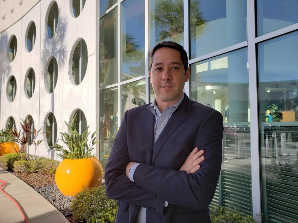 Marcos Barros, vice-presidente internacional de vendas da Universal Resorts