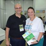 Marcos e Cibele Professiori, da Probusiness Promoção Comercial