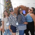 Maria Claudia Oliveira, da Lafuente, Adriana Barros, do Submarino Viagens, Adriana Meireles, da Lafuente, e Tatiana Sousa, da CVC
