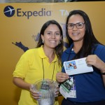 Mariana Garcia, da Expedia TAAP, e Juliana Barbosa, do M&E