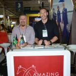 Mark De Villiers e José Leitão, da Amazing Africa
