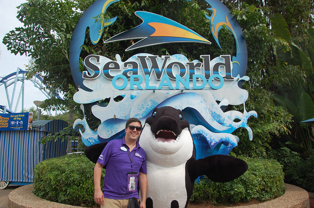 Martin Diniz, gerente de Marketing e Vendas do SeaWorld no Brasil