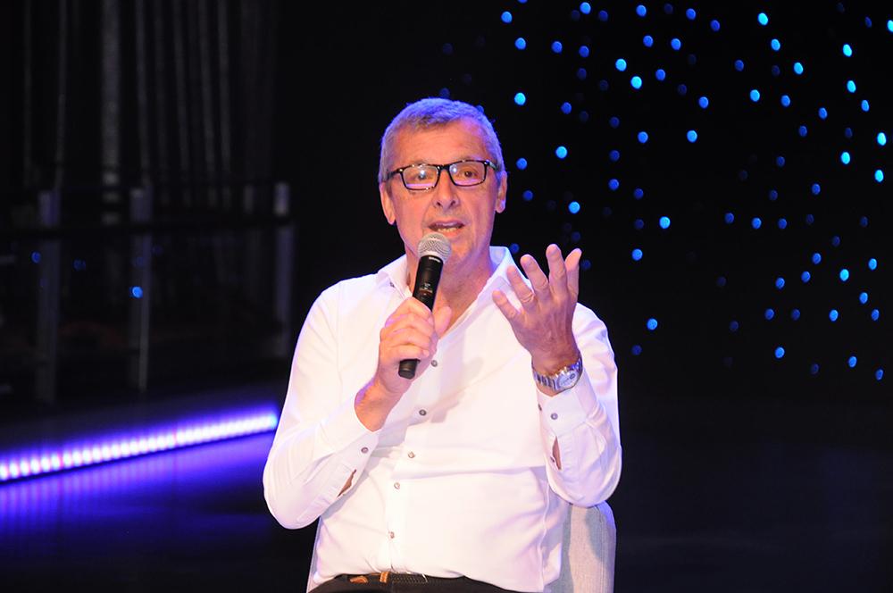 Michael Bayley, CEO da Royal Caribbean