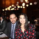 Michel Rocha, da Aerolíneas Argentinas, e Patrícia Mello, Credit Suisse