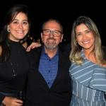Nathalie Freitas e Claudio Ferrete, da R11, com  Edilaine Oliveira, da Latam Travel