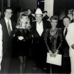 Marta Rossi e Silvia Zorzanello com Beto Carrero e outras autoridades