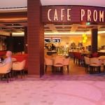 O clássico Cafe Promenade