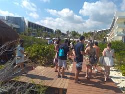TRS Coral Hotel: operadores brasileiros conhecem o mais recente lançamento do Palladium; fotos