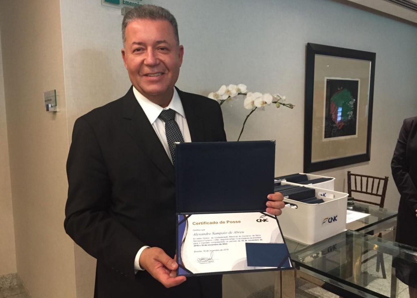 Alexandre Sampaio segue na presidência do Conselho de Turismo da CNC até 2022
