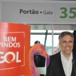 Paulo Kakinoff no aeroporto de Brasília