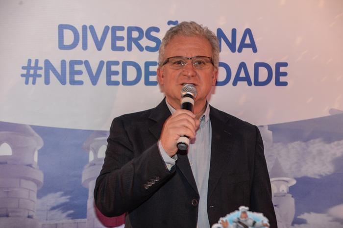 Paulo Mentone, diretor executivo do Snowland