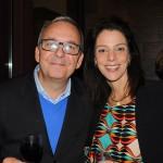 Pedro Sartori, da R11, e Cynthia Bauer, da Via Condotti Turismo