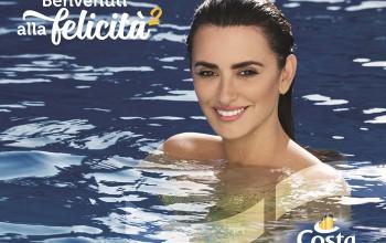 Campanha publicitária da Costa Cruzeiros traz Penélope Cruz como sereia