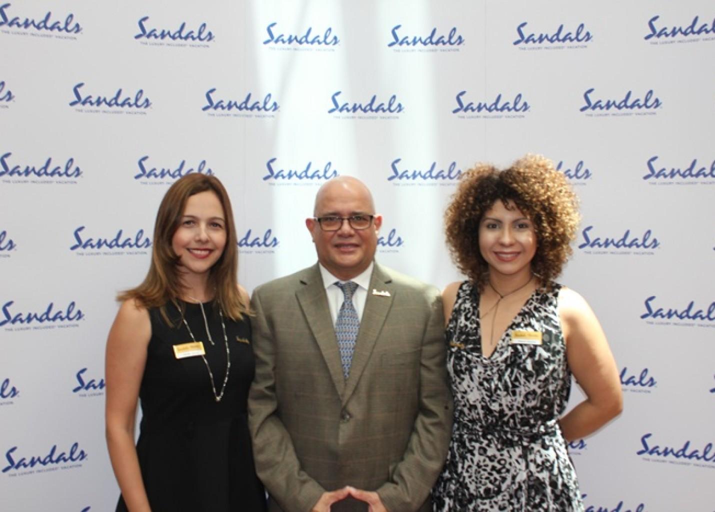Sandals comemora crescimento no Brasil e se prepara para aumentar equipe no país; fotos