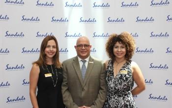 Sandals comemora crescimento e se prepara para aumentar equipe no Brasil; fotos