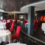 Restaurante exclusivo do Yacht Club