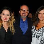 Roberta Quintino, Claudio Ferrete e Cristina Pereira, da R11