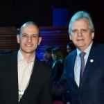 Rodrigo Napoli, da GJP, e Edmar Bull, da Copastur