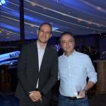 Rodrigo Napoli, da GJP, e Paulo Nascimento, da Viajanet