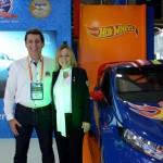 Rogerio Siqueira, presidente do Beto Carrero World, e Vanessa Mendonça, ministério do Turismo