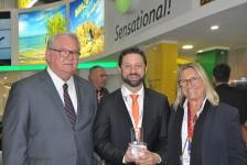 Indicada pelo M&E, Gol recebe o WTM Global Awards 2018 em Londres; veja fotos