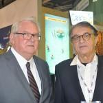 Roy Taylor, presidente do M&E, e Arialdo Pinho, secretário de Turismo do Ceará