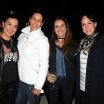 Sabrina Moretti, da R11, Beatriz Matera, da ABC Turismo, Erika Aguillar, da R11, e Kellen Masuchette, da Premiere Viagens