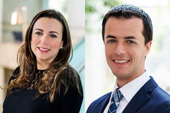 Renata Altobello e Thiago Castro