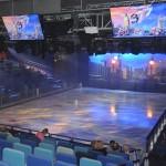 Studio B conta com apresentações no gelo
