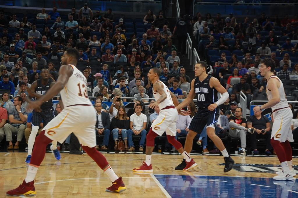 Super Fam do Visit Orlando acompanhou jogo da NBA
