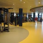 Tamanho do Fitness Center é proporcional ao tamanho do Symphony