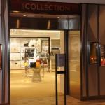 The Collection é mais uma loja dentro do navio