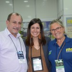 Toni Sando, do SPCVB, Andrea Gabel, do Visit St. PeteClearwater, e Rosa Masgrau, do M&E