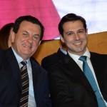 Valter Patriani, da CVC Corp, e Eduardo Zorzanello, do Festuris