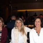 Viviane Simão, da Air Europa, Luciana Alcini, da Alitalia, e Erica Di Giovancarlo, da Italian Travel Agency
