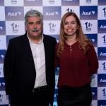 Washington Alves e Viviane Miranda, da Flytour MMT Viagens