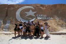 Setur-CE promove presstrip para apresentar seus atrativos turísticos; veja fotos